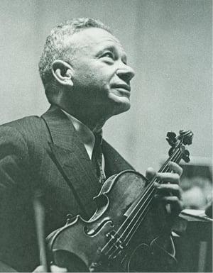 Efrem Zimbalist, violin